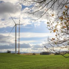 Větrná elektrárna Kobylá nad Vidnavkou